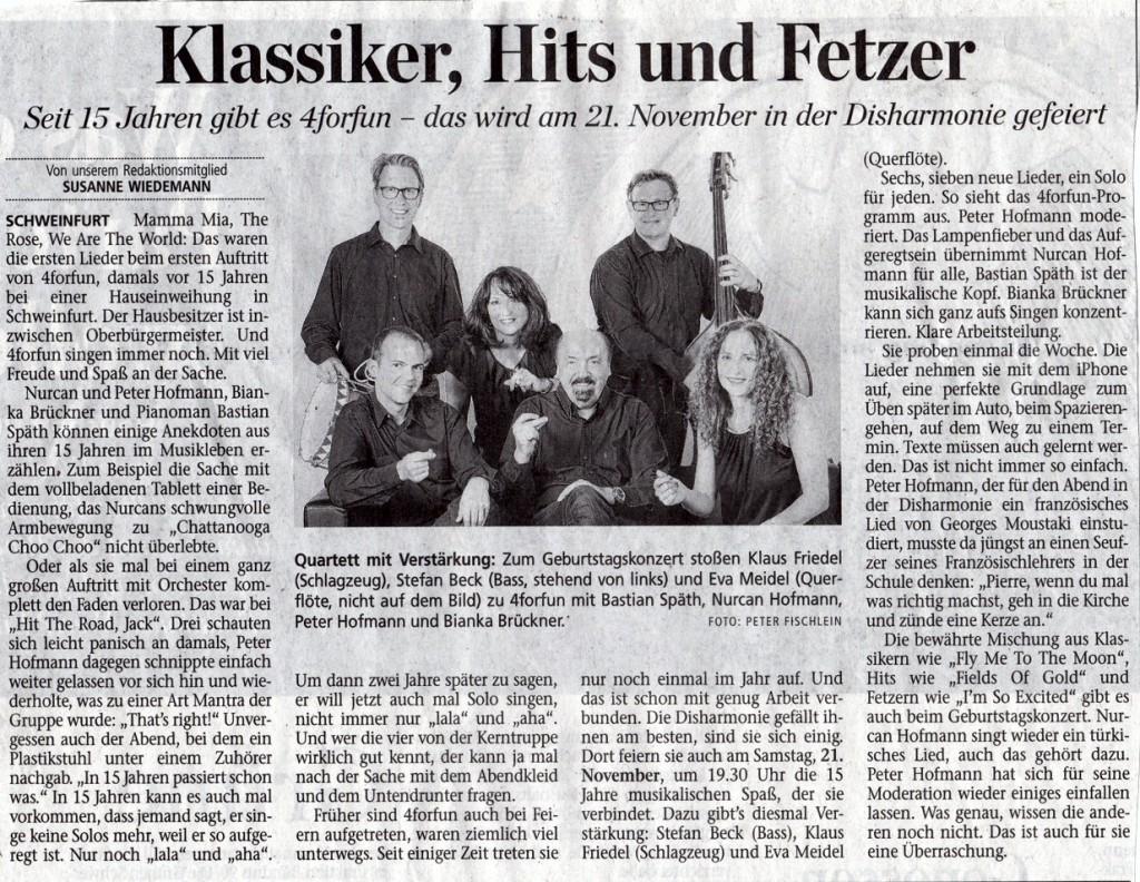 Klassiker, Hits, Fetzer 15